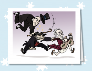The Three Scrooges