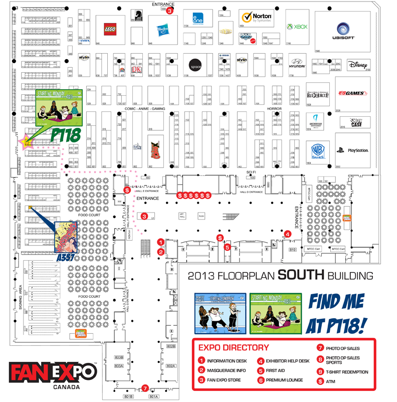 Fan Expo Floorplan