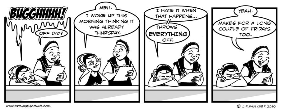 Not Thursday
