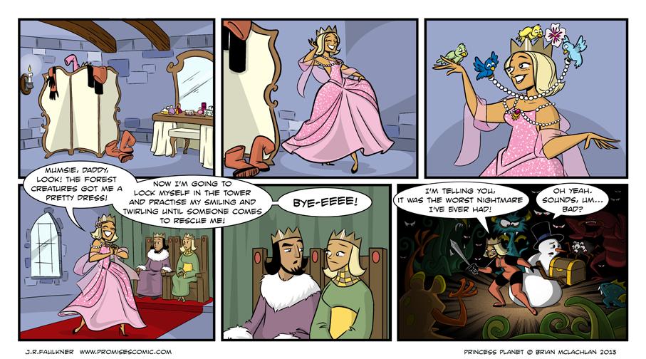 Princess Planet Guest Strip